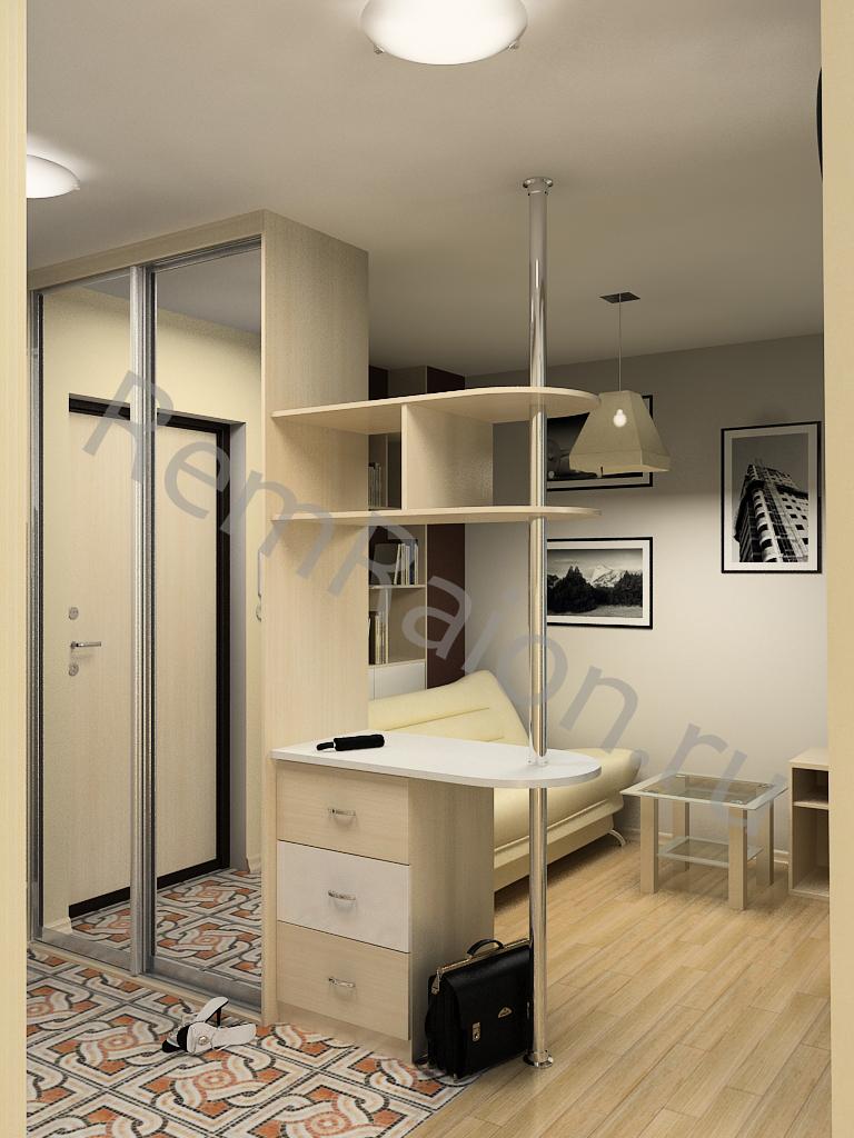 Примеры дизайнов 1 комнатных квартир
