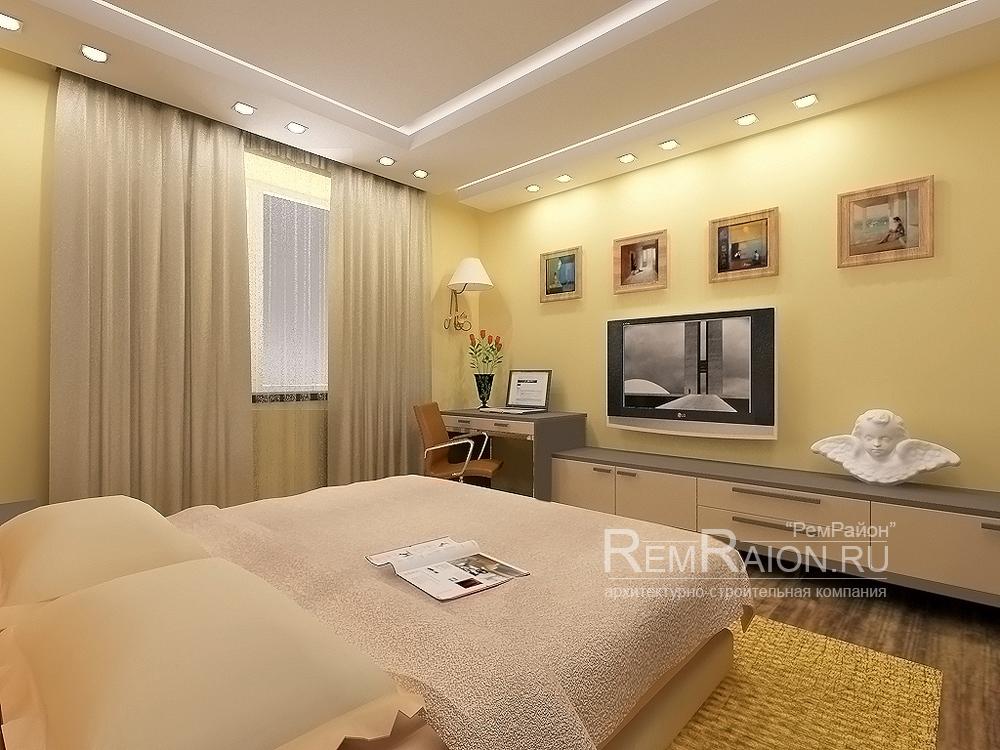 Дизайнерский ремонт квартиры в Москве - Строительная