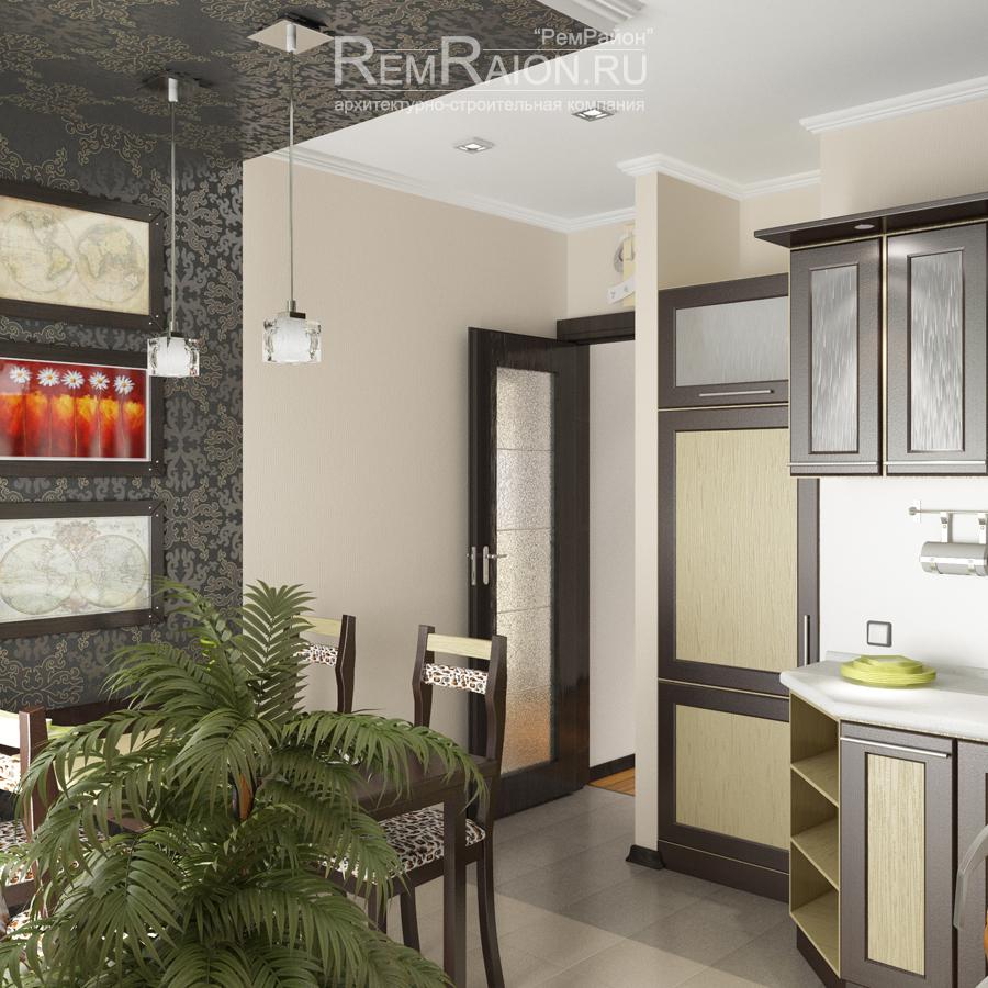 Дизайн квартиры серии копэ парус